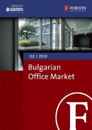 Bulgarian Office Market – Q3, 2010.pdf - Forton