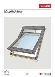 GGL/GGU Solar - Velux