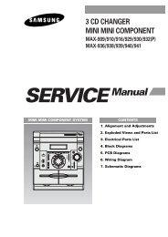 3 CD CHANGER MINI MINI COMPONENT MAX-909 ... - Tehnari.ru