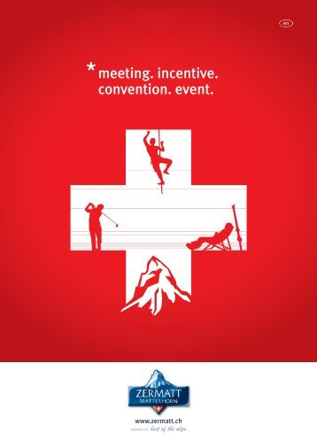 meeting. incentive. convention. event. - Zermatt