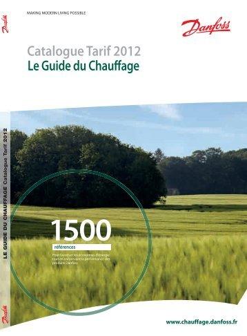 Catalogue Tarif 2012 - Danfoss Chauffage