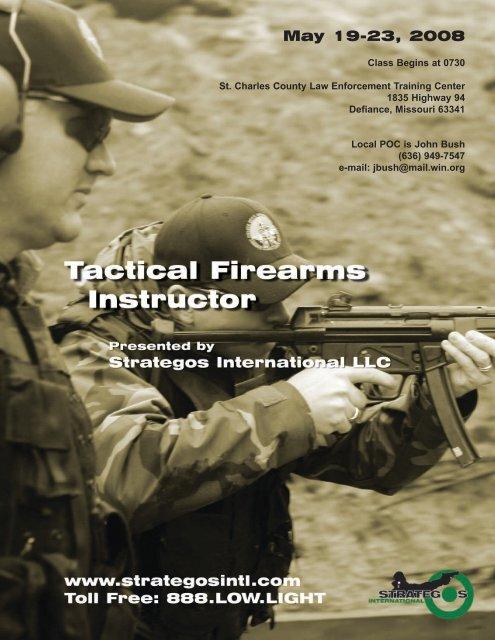 Instructor Flyer-December 2006.qxd - Strategos International