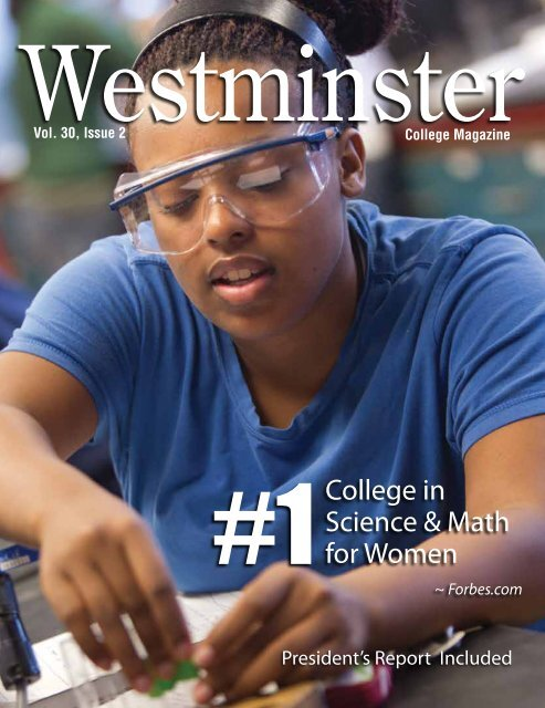 1 College in Science & Math for Women - Westminster College