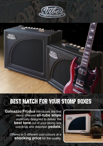 Best match for your stomp boxes - Balzo