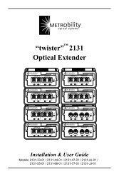 """""""twister"""" 2131 Optical Extender"""