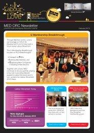 MED ORC Newsletter - WDS
