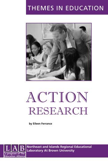 Action Research - The Education Alliance at Brown University