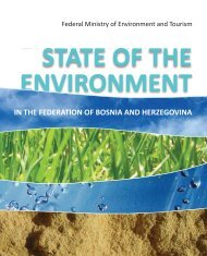 STATE of the environment in the Federation of Bosnia and ...