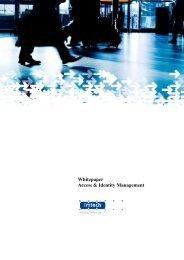 Whitepaper Access & Identity Management - Imtech
