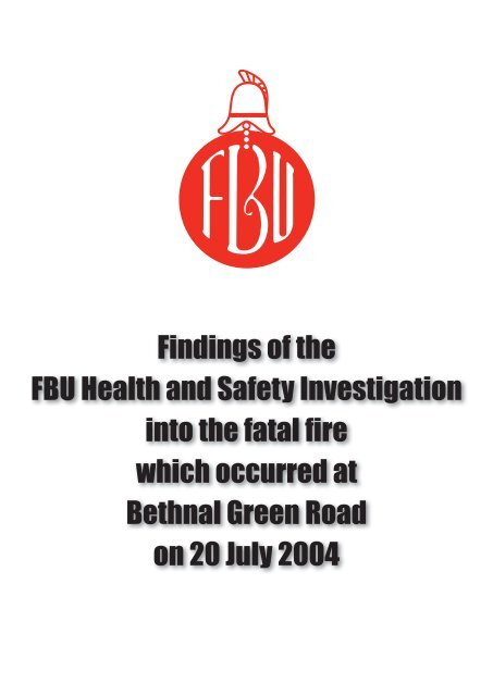FBU Bethnal Green - Fire Brigades Union