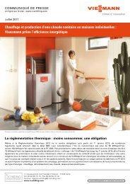 Chauffage et production d'eau chaude sanitaire en maisons ...