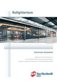 Rollgitter Typ K - B+N TorTechnik