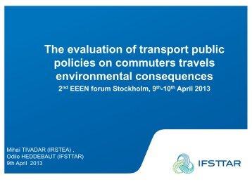 Download the Presentation - Environmental Evaluators Network