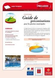 Guide de préconisations pour les piscines municipales - Ademe