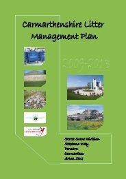 Litter Plan 2009-2013