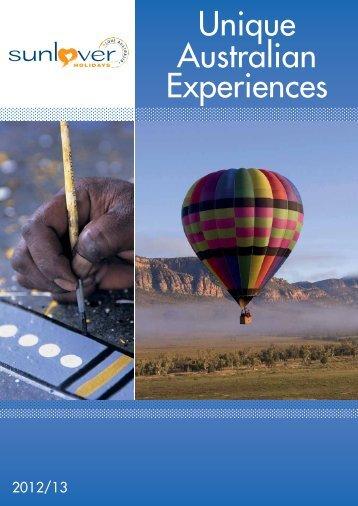 2012-13Unique Australian Experiences - Sunlover Holidays