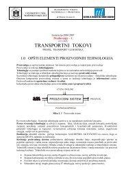 PREDAVANJE TM - 1-2.pdf - Katedra za transportnu tehniku i logistiku