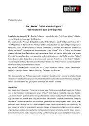 05.01.2012 - Weber Grillakademie Original 2012 - Weber - Der Grill ...