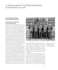 Polizeiorganisation im Kanton Zürich - Staatsarchiv - Kanton Zürich