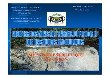Situation énergétique au Gabon - RIAED