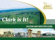 LOCATOR AND INVESTOR GUIDE - Global Gateway Logistics City