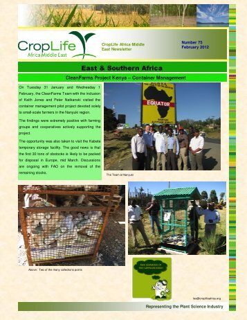 Newsletter February 2012 - CropLife Africa Middle East