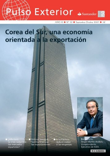 Pulso Exterior - Banco Santander