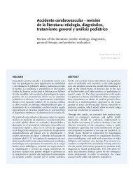 Accidente cerebrovascular - revisión de la literatura - Universidad El ...