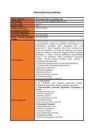 Ekonomika štátov Európskej únie - Fakulta medzinárodných vzťahov