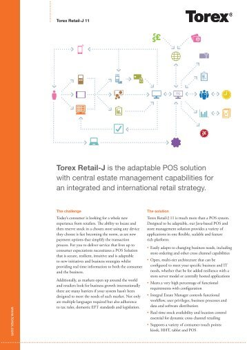 Torex Lucas Pos Is A Pos And Store Management System