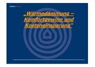 """""""Wärmedämmung – Komfortgewinn und ... - Passivhauskreis"""
