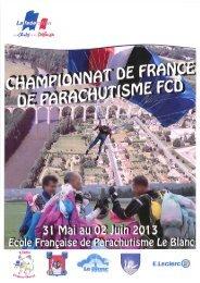 Télécharger (PDF, 2.4MB) - Fédération Française de Parachutisme