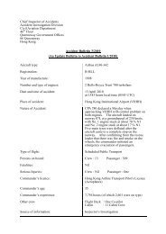 Accident Bulletin 3/2010 (An Update Bulletin to Accident Bulletin 1 ...