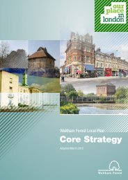 Waltham Forest Local Plan - Core Strategy - Waltham Forest Council