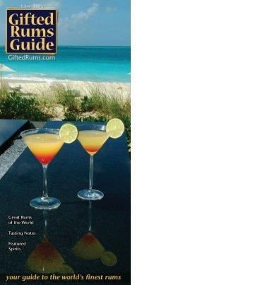 1 - Robert Burr's Rum Guide