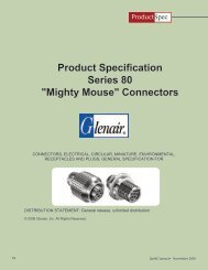 Product Specification Series 80