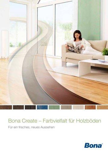 Bona Create – Farbvielfalt für Holzböden