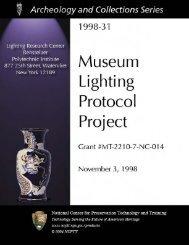 Lighting Research Center - National Center for Preservation ...