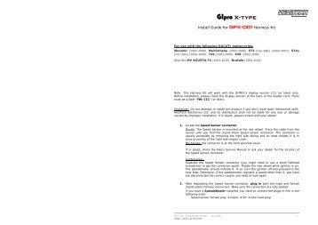 GIpro X-type - AGO Motors