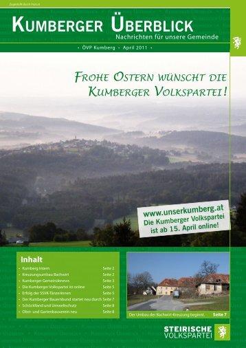 KUMBERGER üBERBLICK - Unser Kumberg