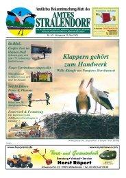 Amtliche Bekanntmachungsblatt des Amtes ... - Amt Stralendorf