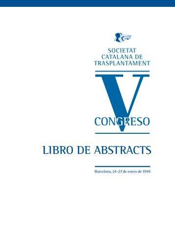 CONGRESO GRESO - Societat Catalana de Trasplantament