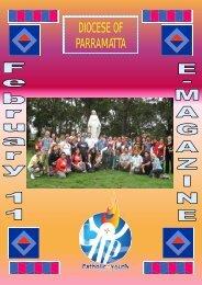 Youth E-Magazine February 2011 - Catholic Diocese of Parramatta
