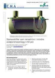 Temaark for renseløsninger - Sandnes Kommune