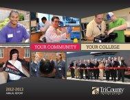 Annual Report - Tri-County Technical College