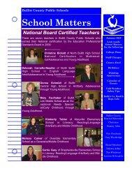 School Matters - Bullitt County Public Schools