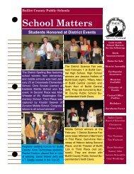 School Matters (February 2011) - Bullitt County Public Schools
