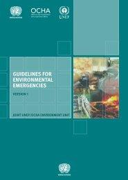 Guidelines for Environmental Emergencies. Version 1 - OCHANet