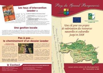 Brochure 4 pages - Pays de Bergerac