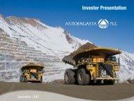 Investor Presentation: Credit Suisse Conference